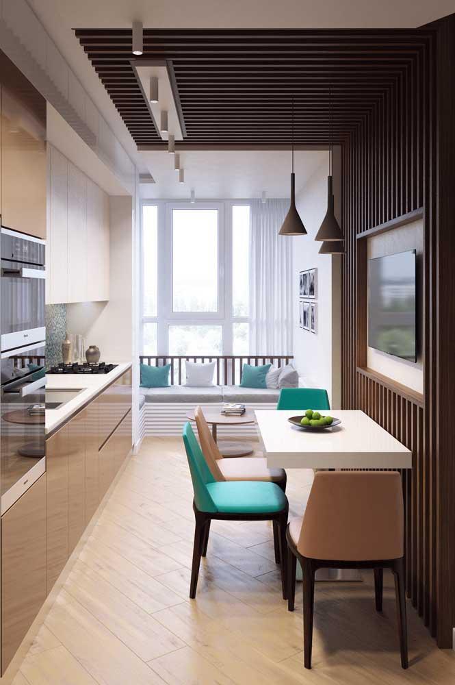 Стол у стены 30 идей для небольшой квартиры 5 | Дока-Мастер