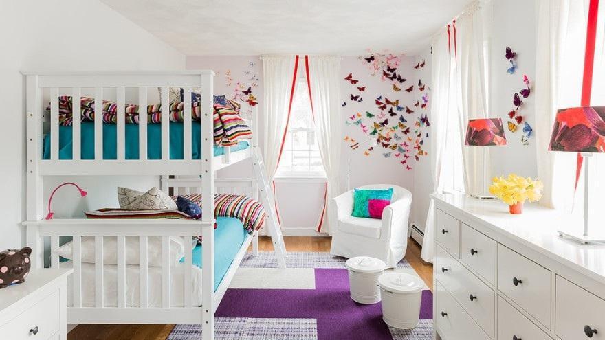 Особенности интерьера детской комнаты 6   Дока-Мастер
