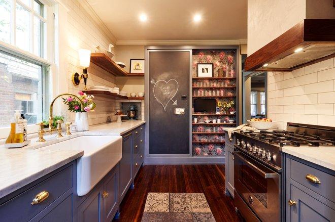 5 узких кухонь, которые действительно работают 6 | Дока-Мастер