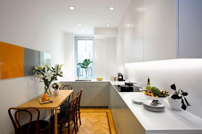 5 узких кухонь, которые действительно работают 7 | Дока-Мастер