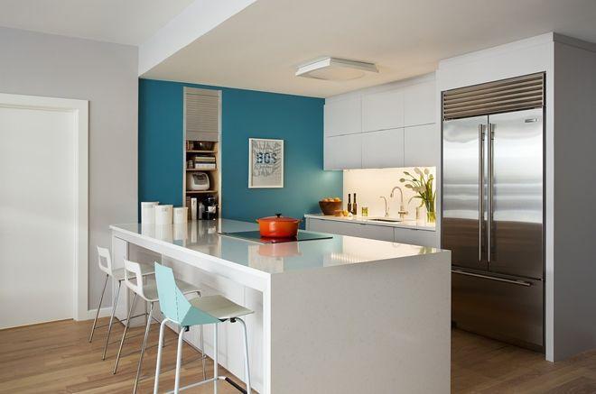 5 узких кухонь, которые действительно работают 9 | Дока-Мастер