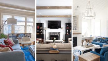 5 удобных гостиных, расположенных вокруг камина 1 | Дока-Мастер