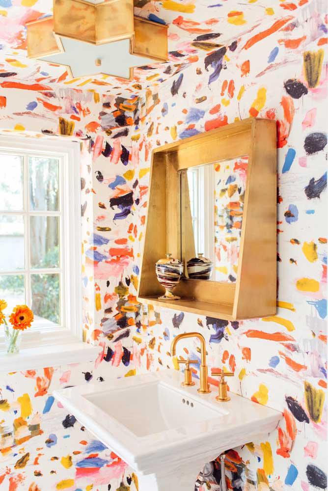 60 идей обоев в туалет 1   Дока-Мастер
