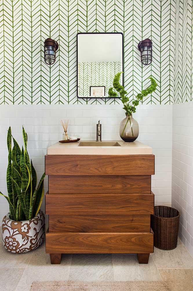 60 идей обоев в туалет 10   Дока-Мастер