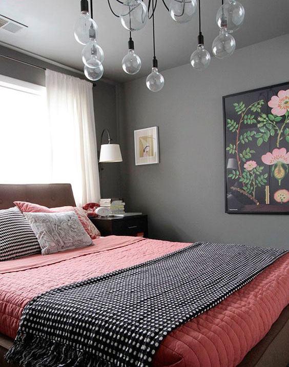 Люстры для спальни: 60 моделей в интерьере 48 | Дока-Мастер