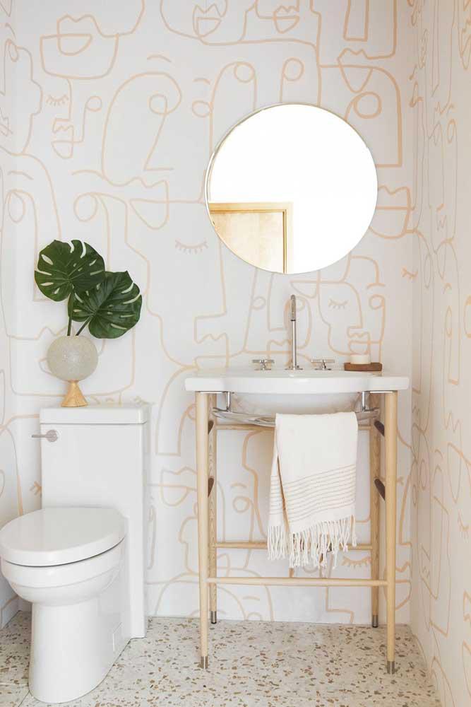 60 идей обоев в туалет 17   Дока-Мастер