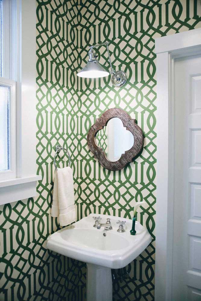60 идей обоев в туалет 19   Дока-Мастер