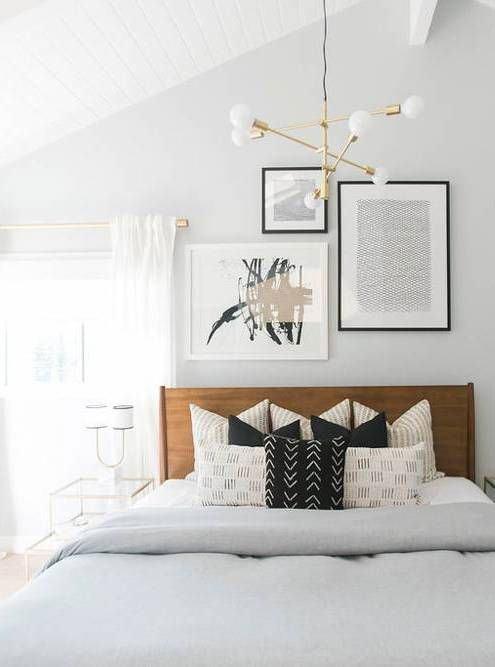 Люстры для спальни: 60 моделей в интерьере 42 | Дока-Мастер