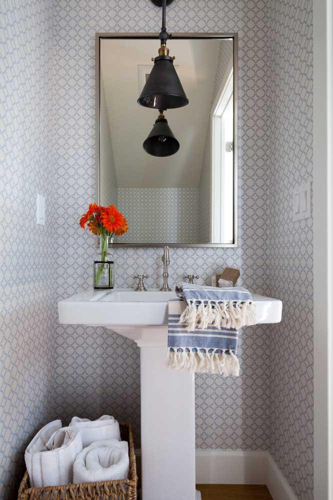 60 идей обоев в туалет 21   Дока-Мастер