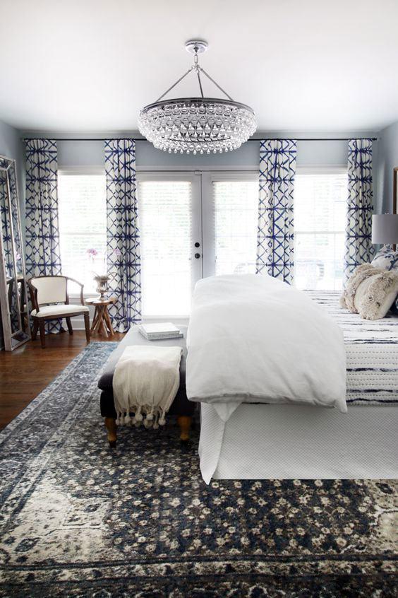 Люстры для спальни: 60 моделей в интерьере 40 | Дока-Мастер