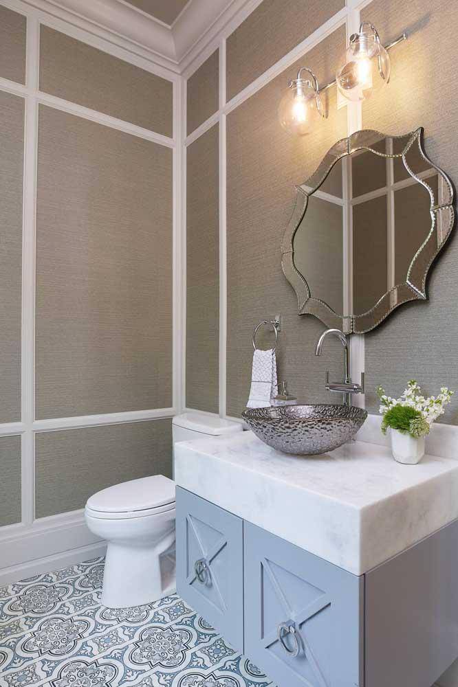 60 идей обоев в туалет 24   Дока-Мастер
