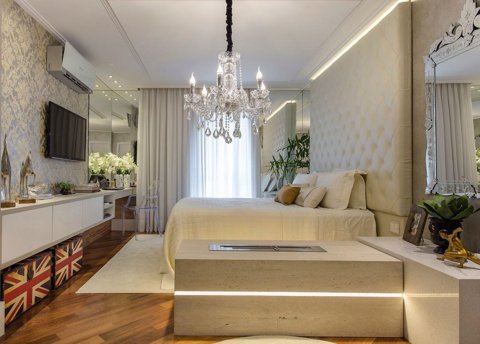 Люстры для спальни: 60 моделей в интерьере 36 | Дока-Мастер