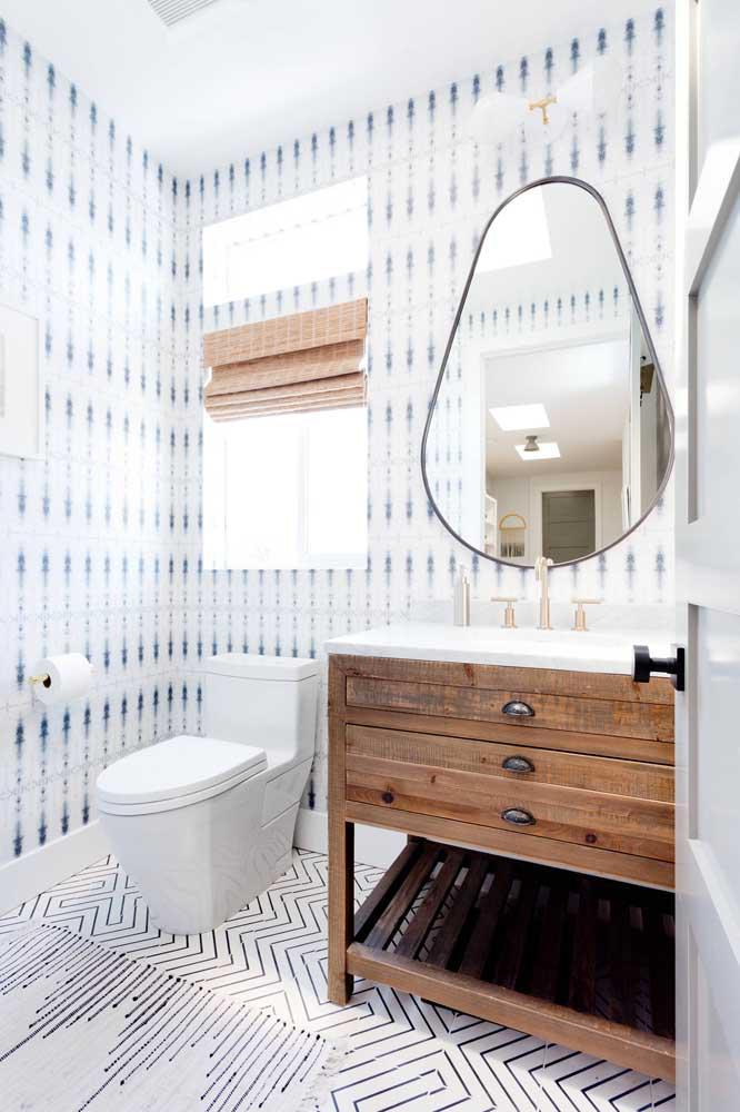 60 идей обоев в туалет 26   Дока-Мастер