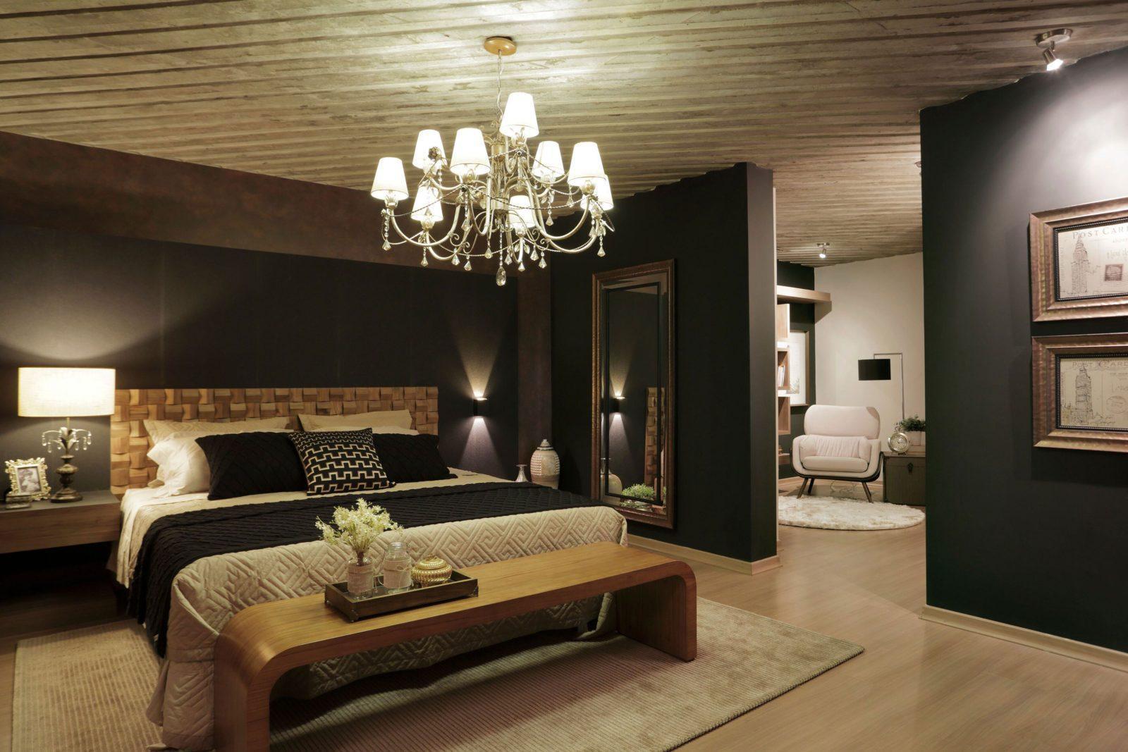 Люстры для спальни: 60 моделей в интерьере 33 | Дока-Мастер