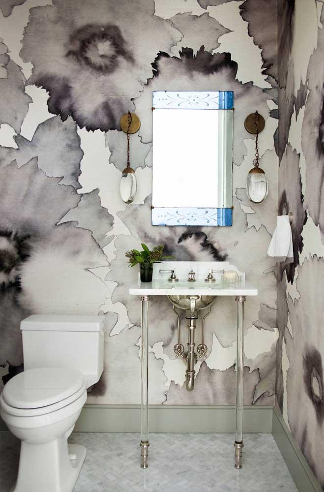 60 идей обоев в туалет 29   Дока-Мастер