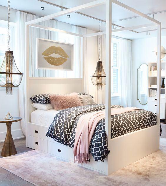 Люстры для спальни: 60 моделей в интерьере 59 | Дока-Мастер