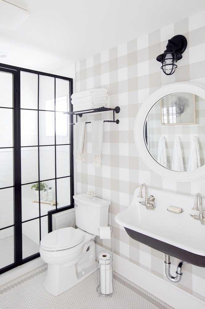 60 идей обоев в туалет 3   Дока-Мастер