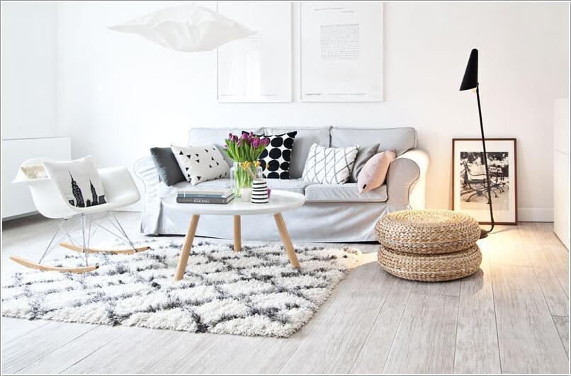 Как украсить дом плетеными пуфиками 3 | Дока-Мастер