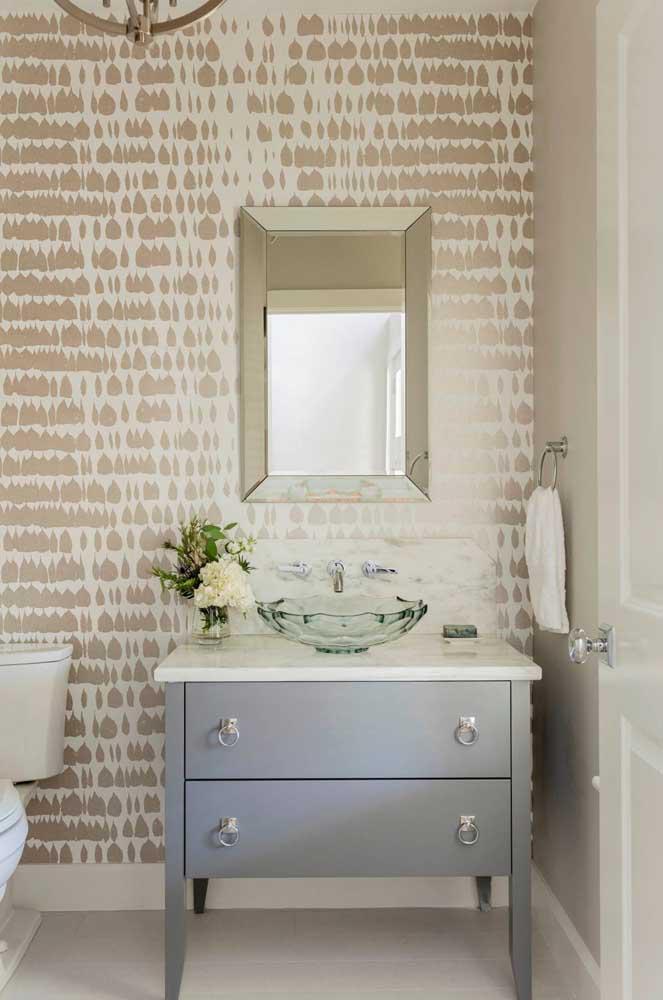 60 идей обоев в туалет 31   Дока-Мастер