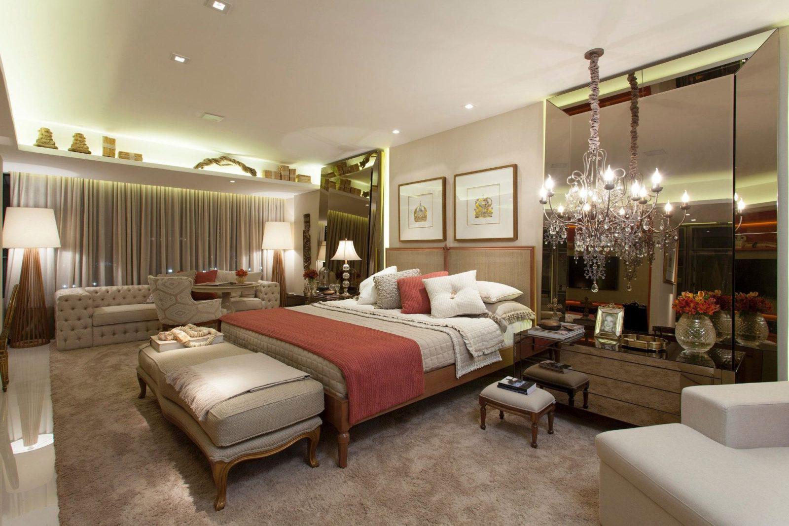 Люстры для спальни: 60 моделей в интерьере 30 | Дока-Мастер