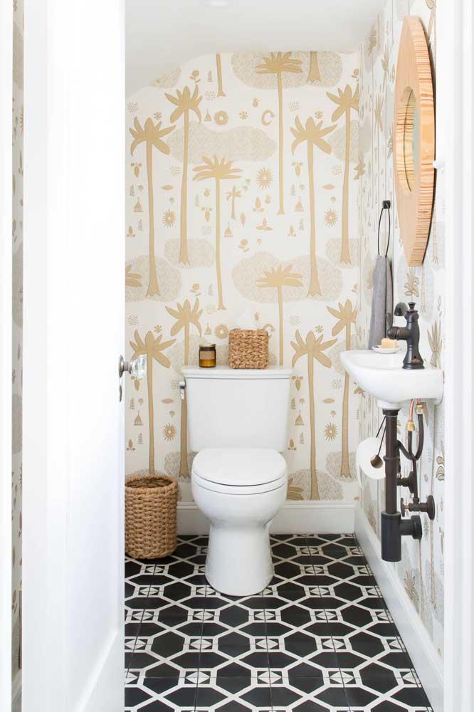 60 идей обоев в туалет 33   Дока-Мастер