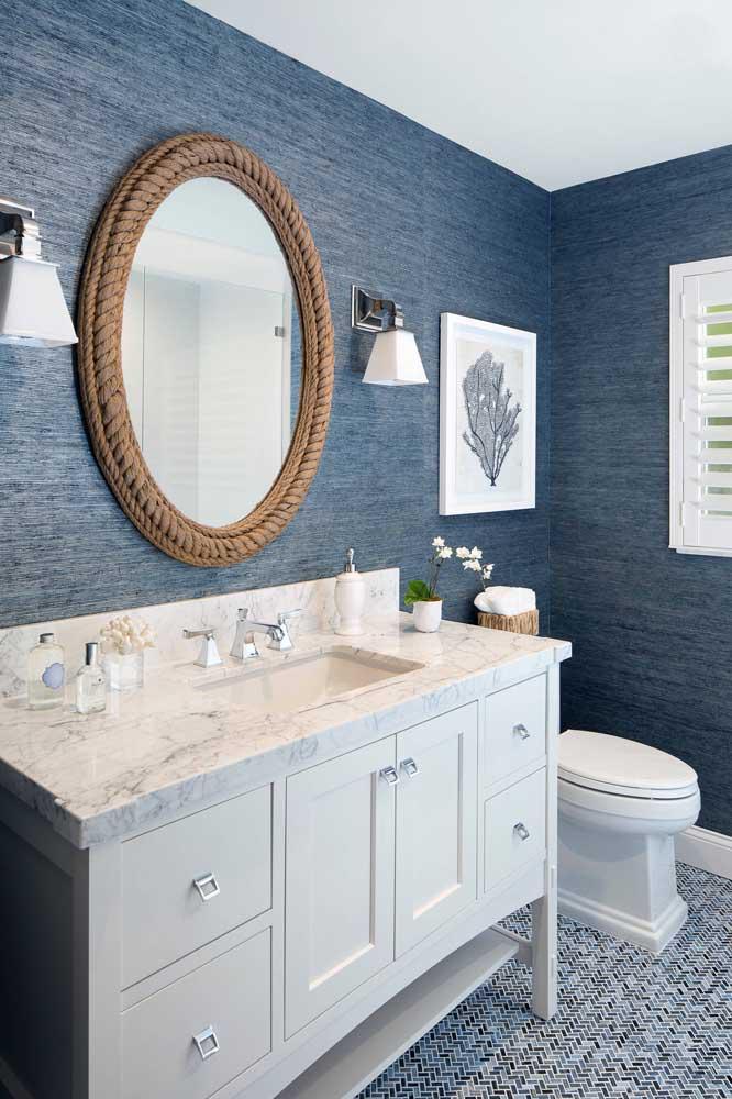60 идей обоев в туалет 34   Дока-Мастер