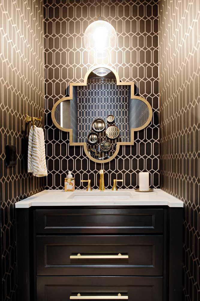 60 идей обоев в туалет 35   Дока-Мастер