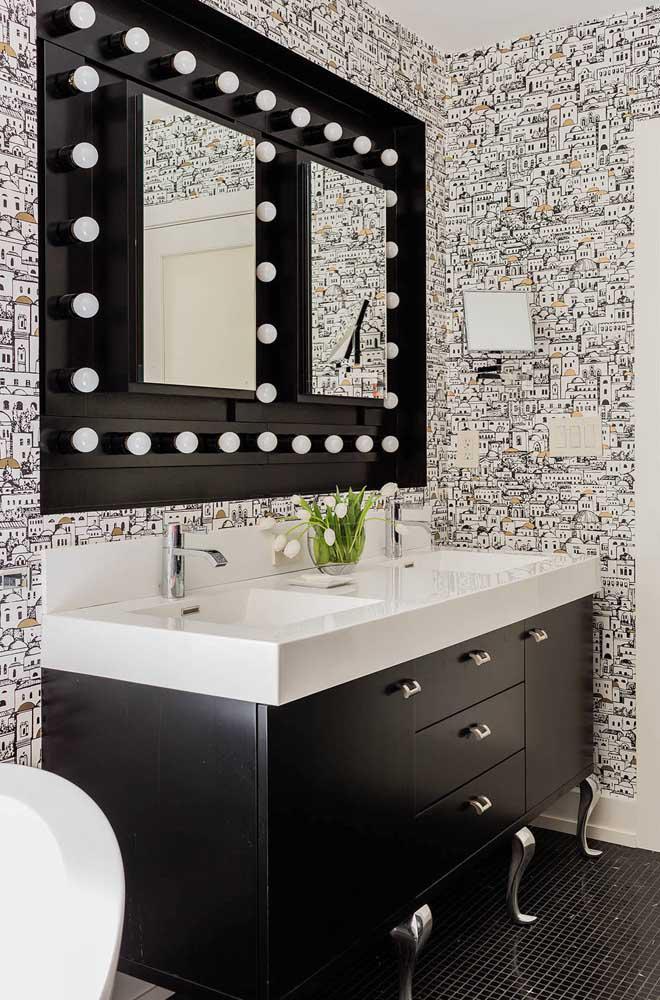 60 идей обоев в туалет 38   Дока-Мастер