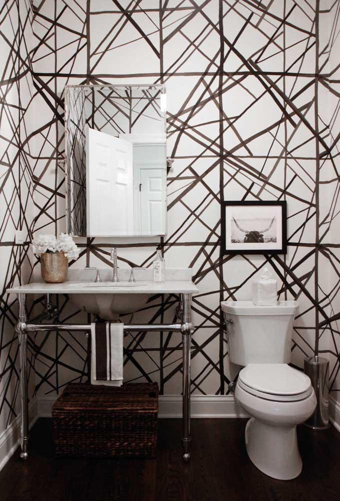 60 идей обоев в туалет 39   Дока-Мастер