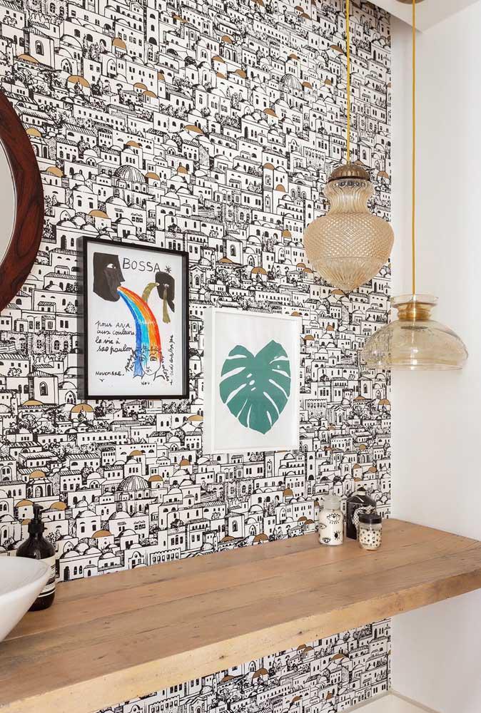 60 идей обоев в туалет 4   Дока-Мастер