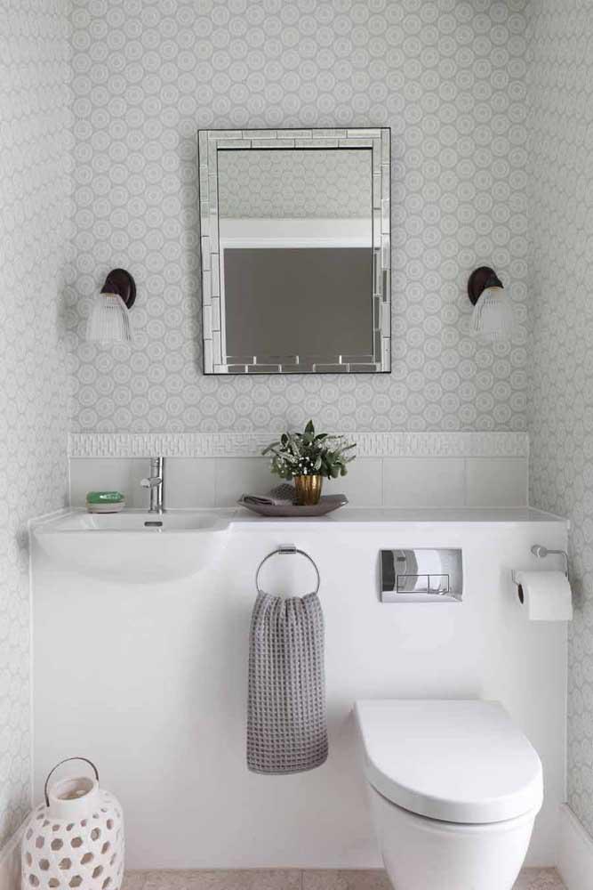 60 идей обоев в туалет 40   Дока-Мастер