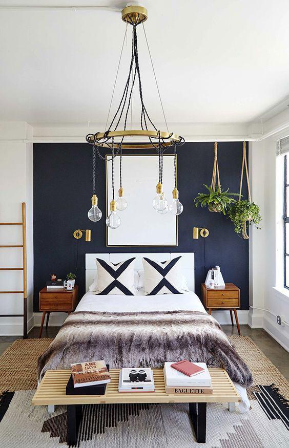 Люстры для спальни: 60 моделей в интерьере 57 | Дока-Мастер