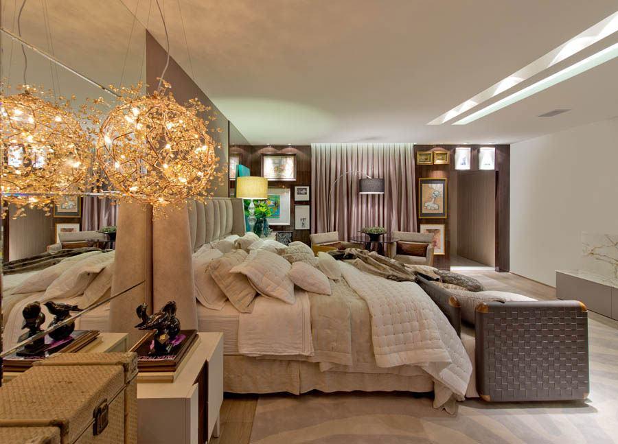 Люстры для спальни: 60 моделей в интерьере 12 | Дока-Мастер