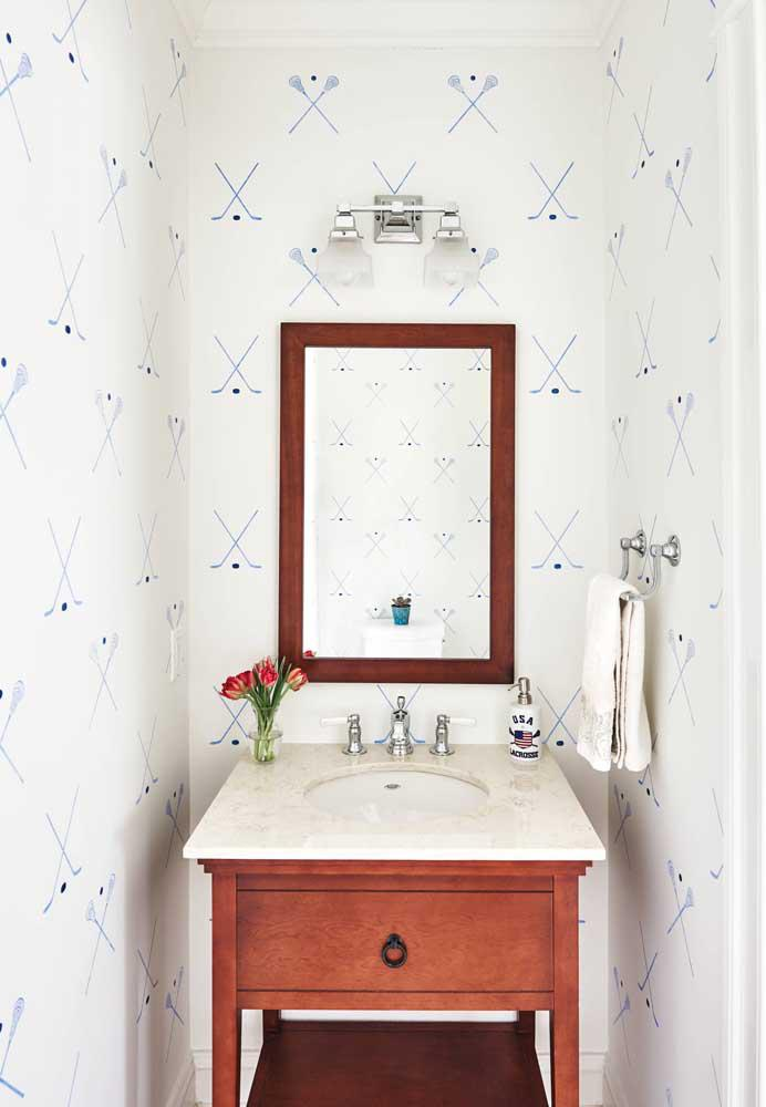 60 идей обоев в туалет 53   Дока-Мастер