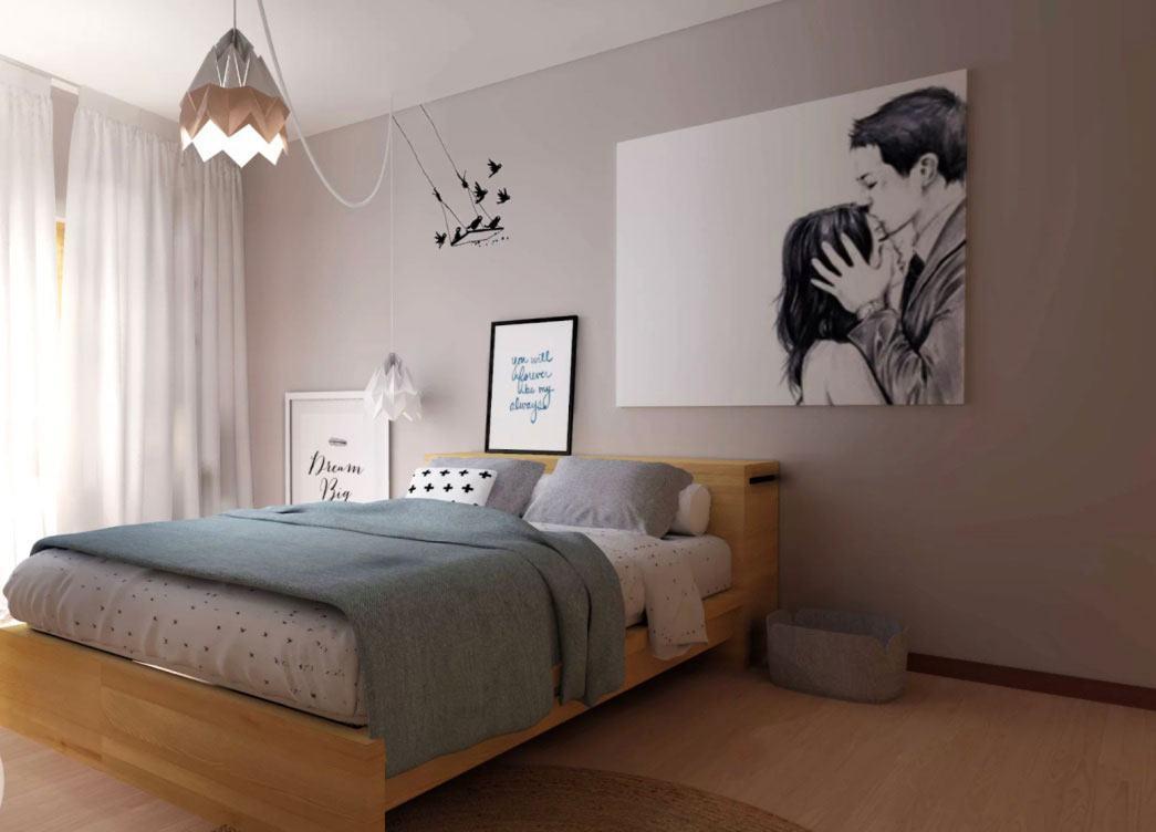 Люстры для спальни: 60 моделей в интерьере 6 | Дока-Мастер