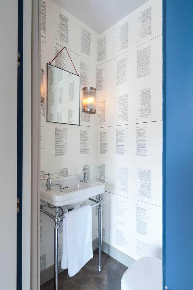 60 идей обоев в туалет 56   Дока-Мастер