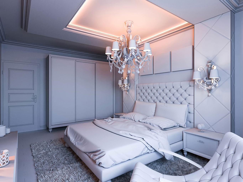 Люстры для спальни: 60 моделей в интерьере 4 | Дока-Мастер