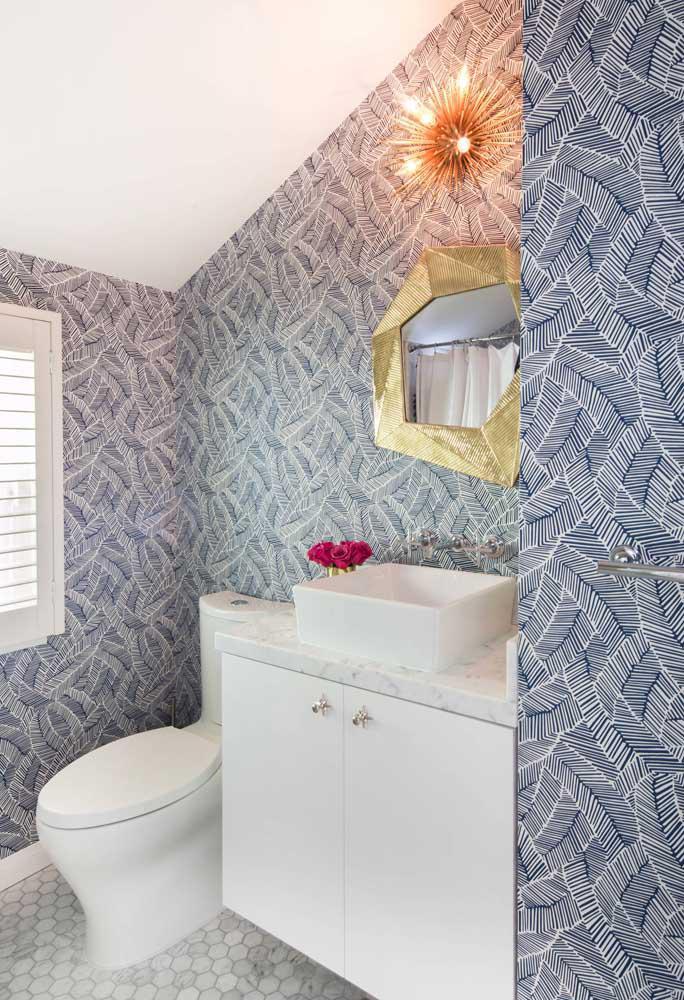 60 идей обоев в туалет 58   Дока-Мастер