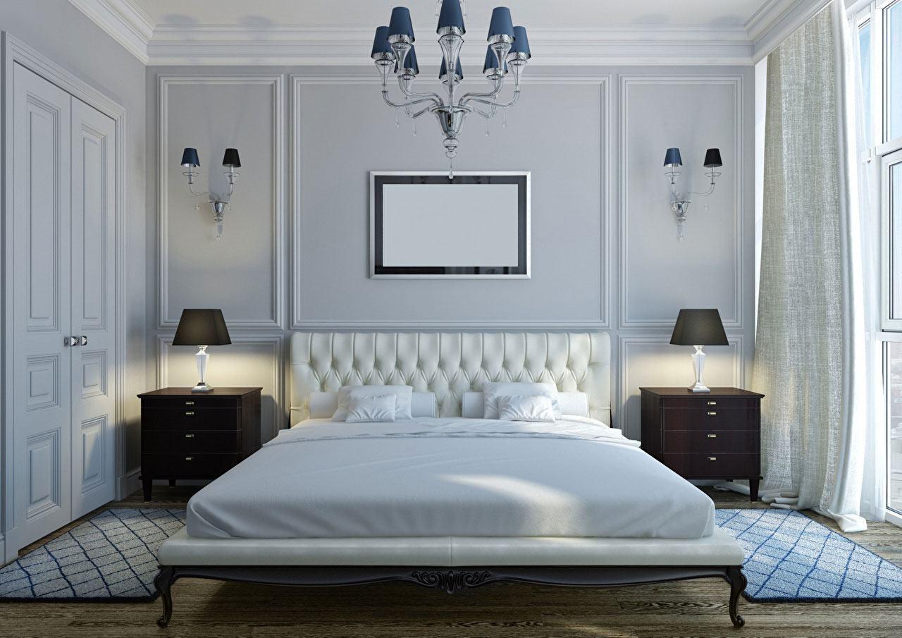 Люстры для спальни: 60 моделей в интерьере 2 | Дока-Мастер