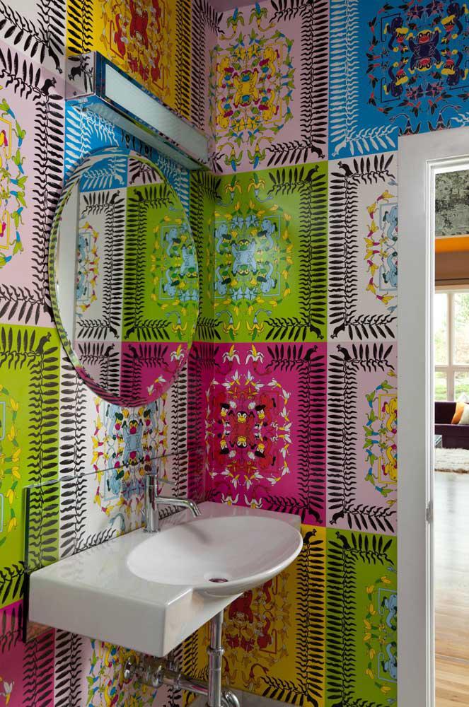 60 идей обоев в туалет 62   Дока-Мастер