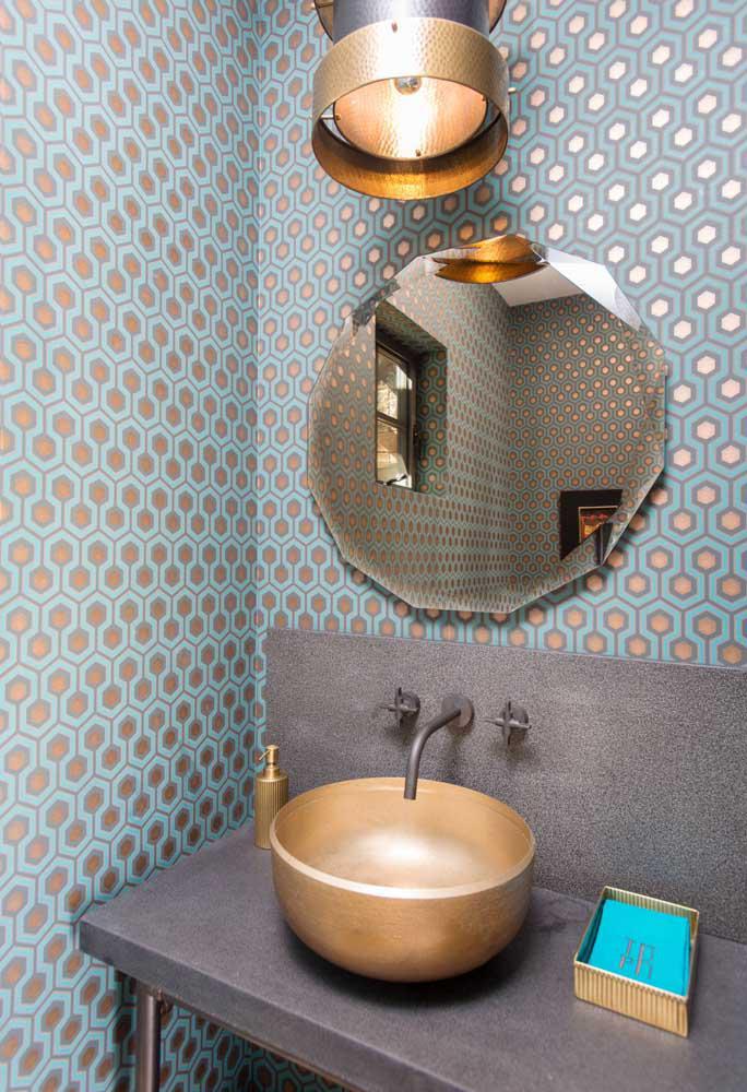 60 идей обоев в туалет 63   Дока-Мастер