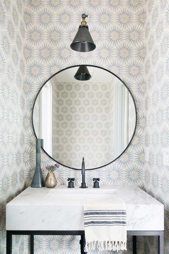 60 идей обоев в туалет 65   Дока-Мастер