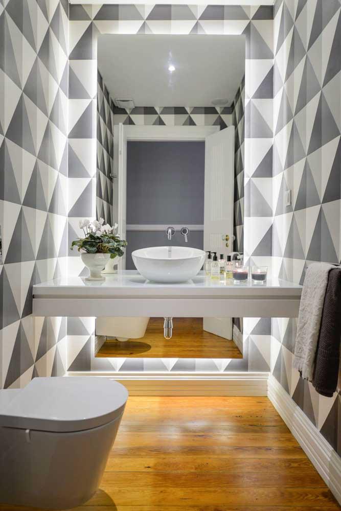 60 идей обоев в туалет 8   Дока-Мастер