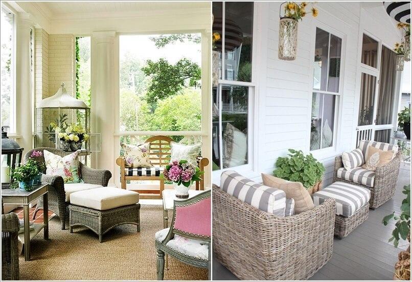 Как украсить дом плетеными пуфиками 8 | Дока-Мастер