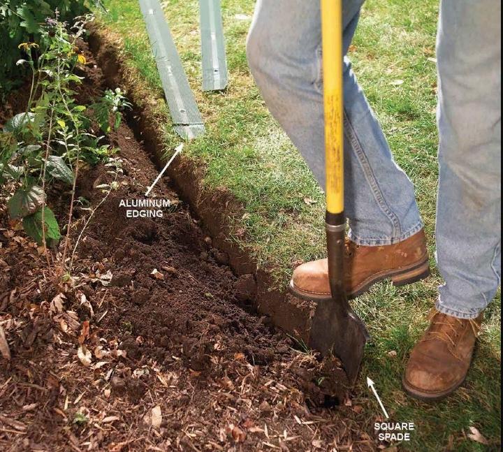 Как сделать кромки садовых грядок - image2