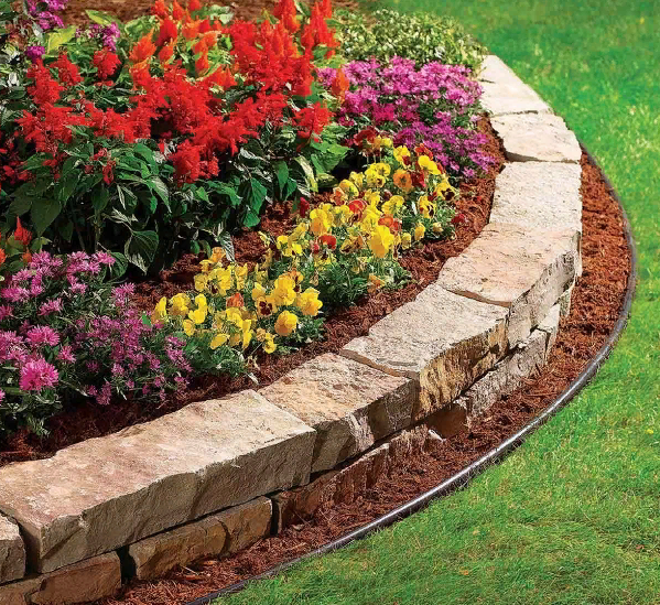 Как сделать кромки садовых грядок - image5