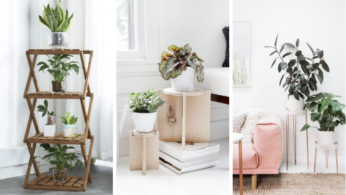 Подставки для комнатных растений, которые вы можете сделать своими руками