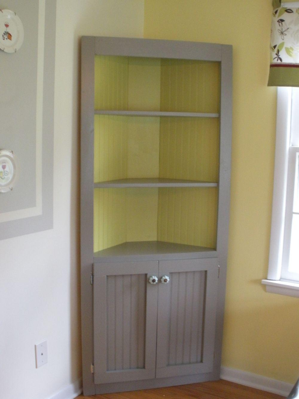 Удобное хранение с угловым шкафом, 10 идей - image5