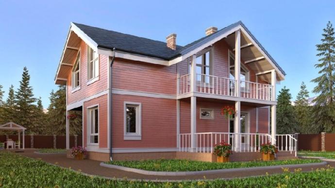 Отделка фасада каркасного дома какой материал выбрать
