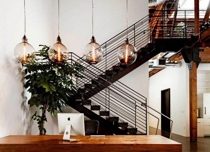 Дизайнерские светильники в интерьере 1 | Дока-Мастер